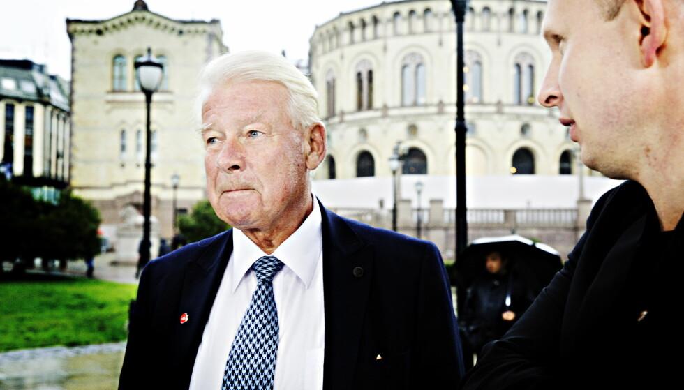 Varsler «ny situasjon»: Carl I. Hagen mener stortingsflertallet ikke kan regelverket. Foto: Nina Hansen / Dagbladet