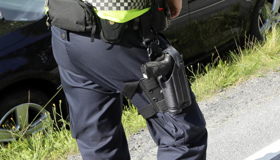 STRIDSTEMA: I en høringsuttalelse går PST inn for bevæpning. Foto: Sigmund Krøvel-Velle / Samfoto / NTB Scanpix