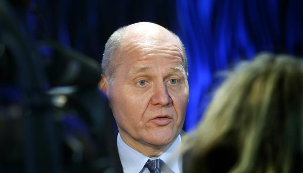 - HAR TILLIT TIL BREKKE: Telenors konsernsjef Sigve Brekke blir i selskapet. - Enn så lenge, mener BI-professor. Foto: Vidar Ruud / NTB Scanpix