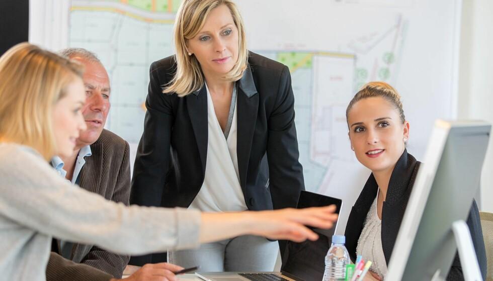 MØNSTER: Vi har høy kvinnelig arbeidsdeltakelse, men få kvinner i privat sektor og få kvinnelige entreprenører og selvstendig næringsdrivende, skriver kronikkforfatteren. Foto: Shutterstock / NTB Scanpix
