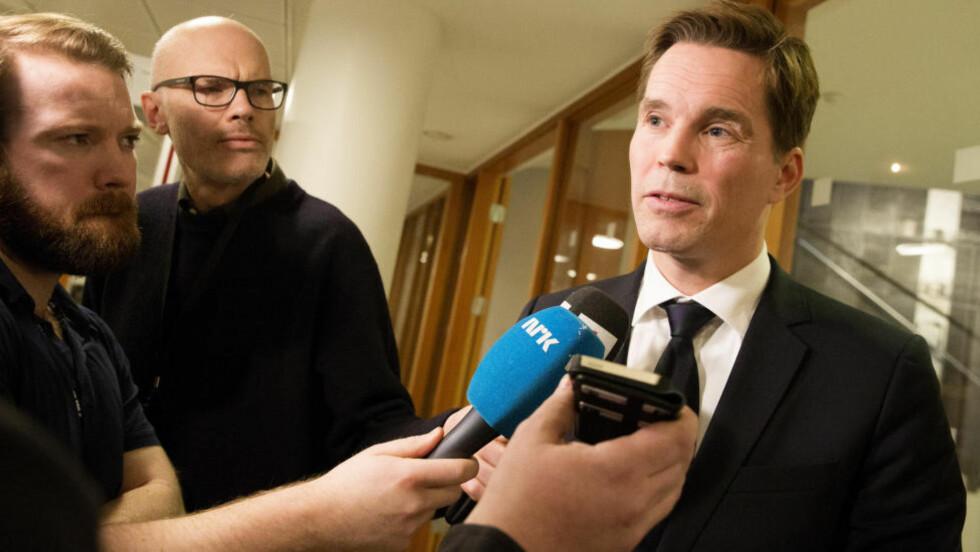 KRITISK: Advokat Marius Dietrichson er kritisk til politiets framgangsmåte. Foto: Håkon Mosvold Larsen / NTB scanpix