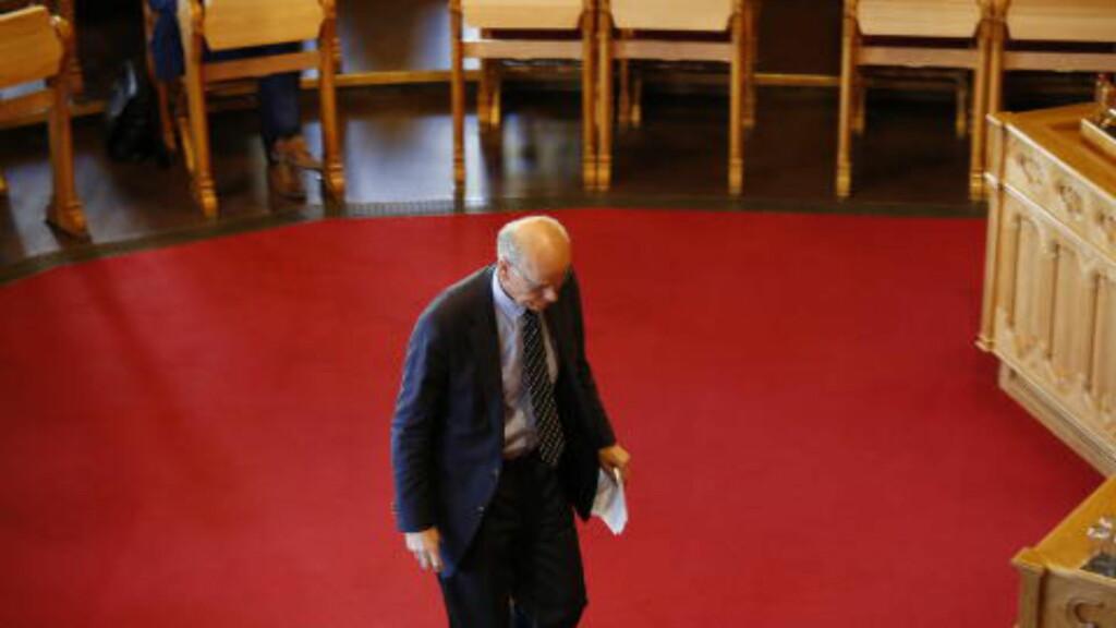 NAVLEPILLERI: Kontrollkomitémedlem Michael Tetzchner (H) er kritisk til at komiteen befatter seg med småsaker, mens Forsvaret står overfor store utfordringer. Foto: Jacques Hvistendahl / Dagbladet