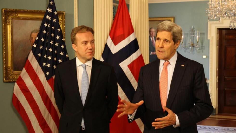 SAMARBEID: USA og Norge mener det er uakseptabelt at landminer skal fortsette å drepe og lemleste i generasjoner framover. Foto: UD