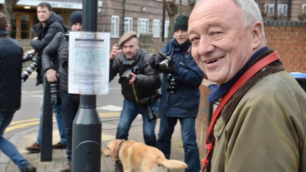 BIKKJESLAGSMÅL: Ken Livingstone, tidligere ordfører i London og støttespiller for Labour-leder Jeremy Corbyn, beskyldes for antisemittisme. Foto: NTB Scanpix