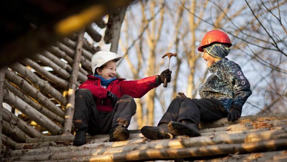 LEK:  Hva skjer med barn som ikke får leke?   Foto: Jonas Frøland / NTB Scanpix
