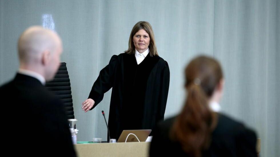 BREIVIK-DOMMEN: Dommer Helen Andenæs Sekulic. Foto: Bjørn Langsem / Dagbladet