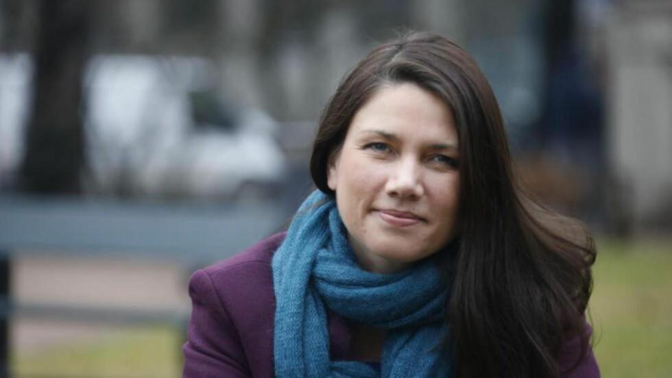 SVARER:  Heidi Nordby Lunde svarer på kritikken fra Trettebergstuen.  Foto: Tom A. Kolstad