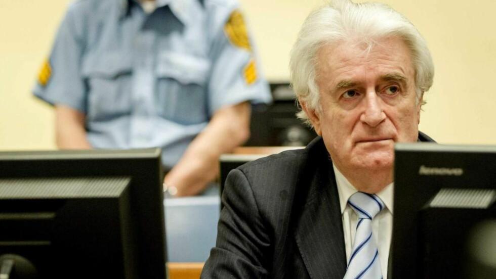 I RETTEN: Radovan Karadzic mobiliserte serbere med å advare mot islamsk.