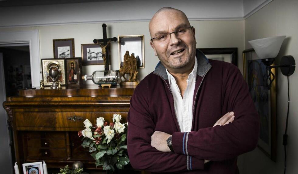 STØTTER SYLVI LISTHAUG: Einar Gelius reagerer på Sturla Stålsetts kronikk med tittelen «Flyktningenes Gud» i Dagbladet påskeaften. Foto: Lars Eivind Bones / Dagbladet