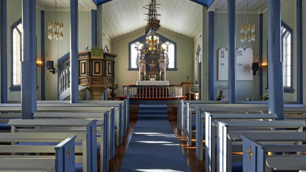 KIRKEROM: Skal kirkerommet åpnes for andre typer bønn? Foto: Steinar Myhr /Samfoto / NTB Scanpix