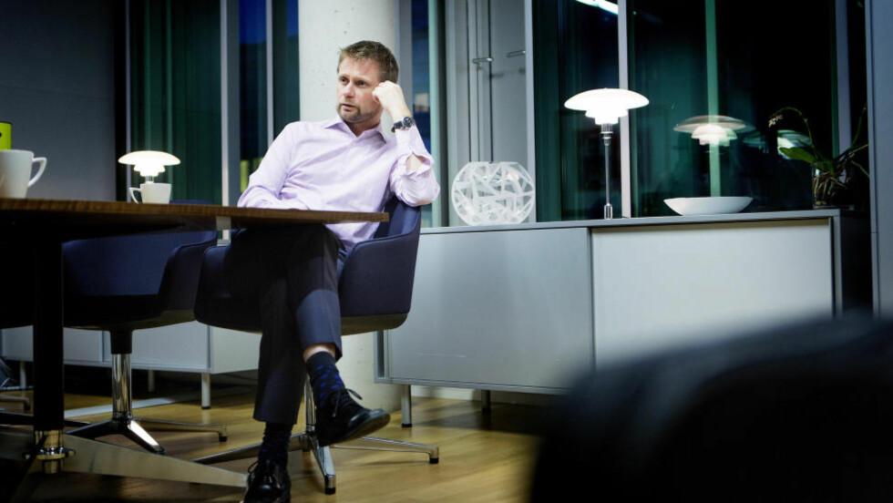 PÅ LÅNT TID: Det er åpenbart at PR-rådgiverne til Bent Høie vet hva han bør si for å selge en politikk som lever på lånt tid, skriver artikkelforfatteren.  Foto: Christian Roth Christensen / Dagbladet