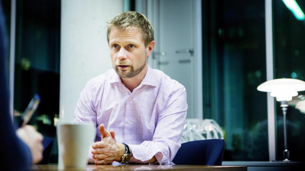 OSLO 20140207 Helseminister Bent Høie (H) på sitt kontor i Helsedepartementet i Oslo. Foto: Christian Roth Christensen / Dagbladet