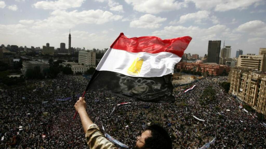 TRIUMF: Tahrir-plassen i Kairo våren 2011. Så gikk det meste galt. Foto: AFP/MISAM SALEH/Scaipix