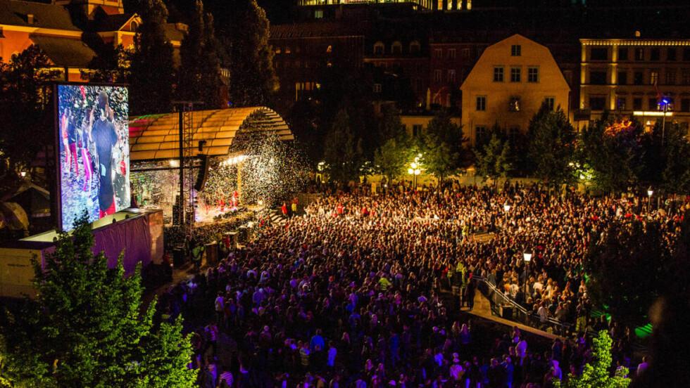 IKKE TATT PÅ ALVOR: En rekke overgrep under ungdomsfestivalen We are Stockholm, angivelig begått av unge afghanske asylsøkere, ble dysset ned av politiet. Foto: Alexander Tillheden