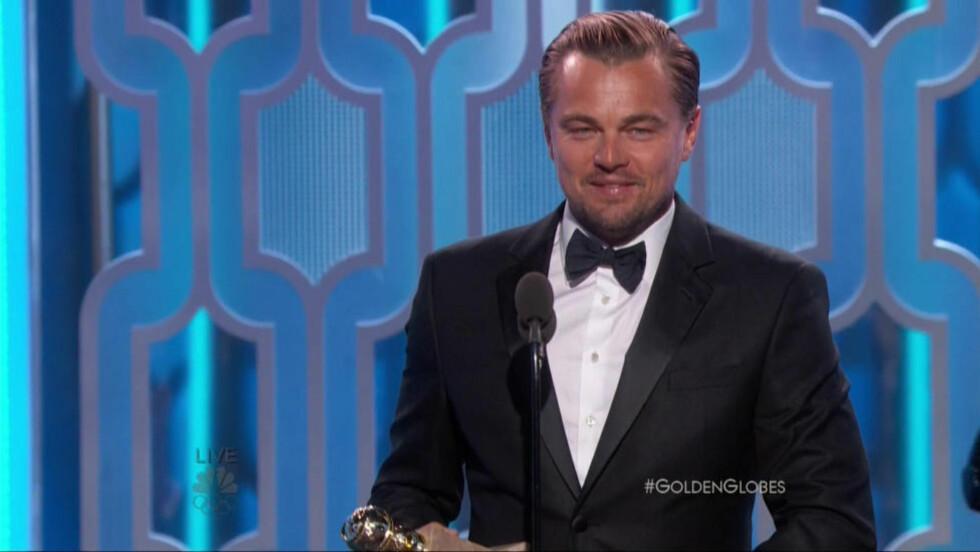 UTFORDRER SEG SELV: Leonardo diCaprio har alltid valgt utfordrende roller, og slik bidratt til å holde den seriøse voksenfilmen i live. Nå er han omsider Oscar-favoritt. Foto: Wenn / Scanpix.