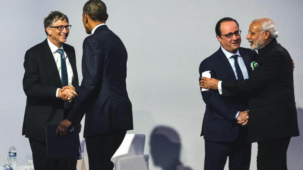 COP21: De rike landene har en moralsk forpliktelse til å strekke seg lenger for å få en avtale i havn i Paris. Christian Liewig/Abacapress.com