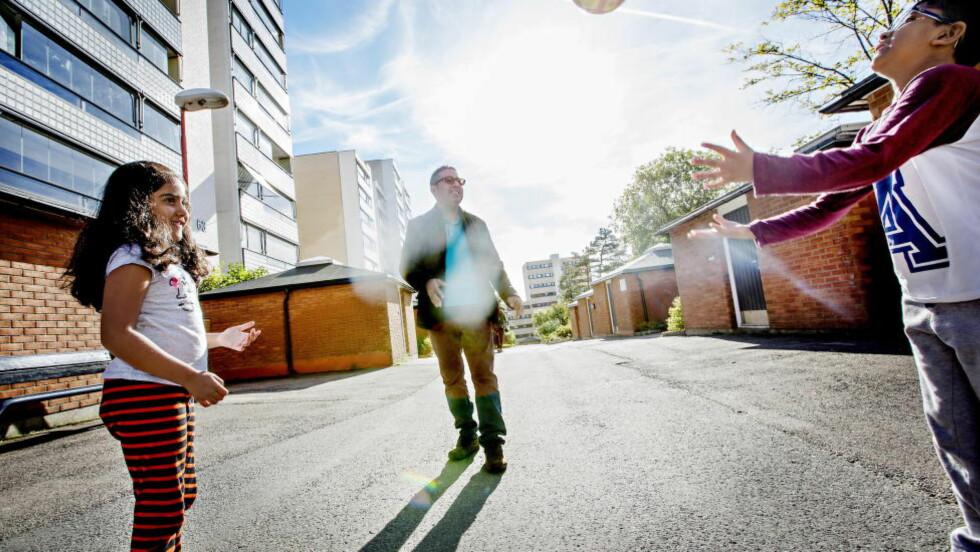 GRORUDDALEN: Halvor Fosli har skrevet bok om Groruddalen. Problemet er at hans intervjumetode gjør det umulig å si noe mer generelt om fenomenet han undersøker, skriver Aksel Braanen Sterri. Foto: Anita Arntzen / Dagbladet