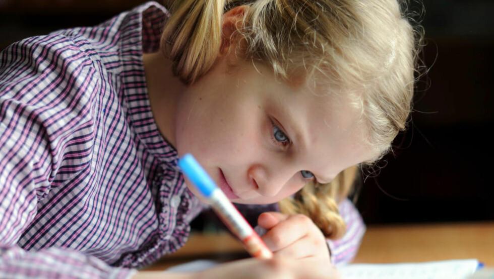 MENINGSLØST: Vi må snakke om lekser. De virker ikke, skriver artikkelforfatteren. Foto: Frank May / NTB scanpix
