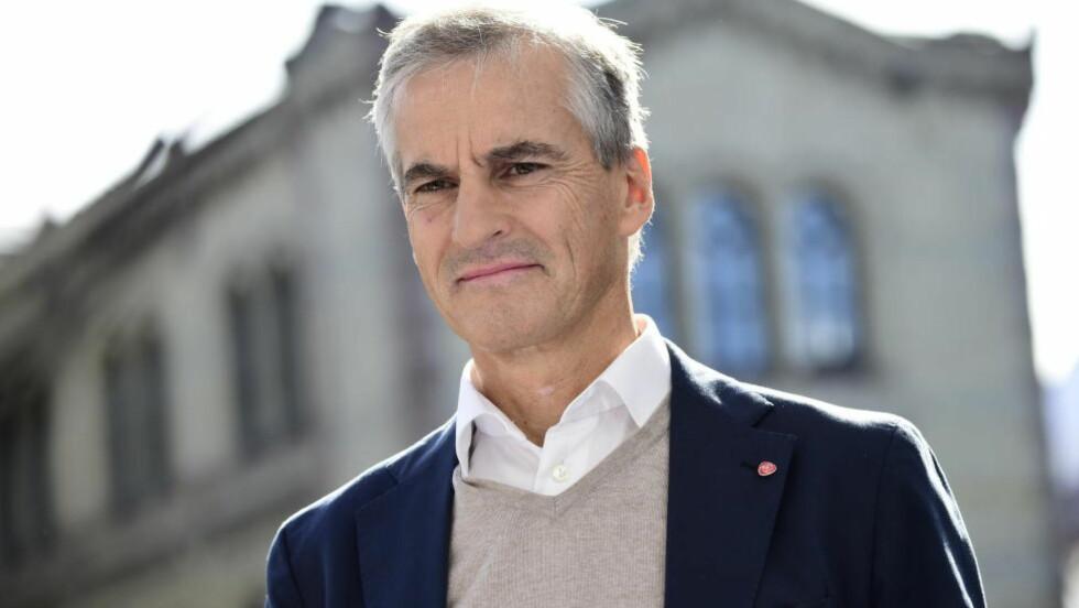BOMBESIKKER: Tidligere utenriksminister Jonas Gahr Støre.