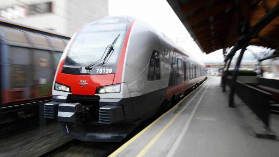 Intercity: Den rette linjen vil gi effektiv intercityløsning og kortest mulig reisetid Oslo-Gøteborg, skriver Ståle Solberg. Foto: Terje Pedersen / NTB scanpix