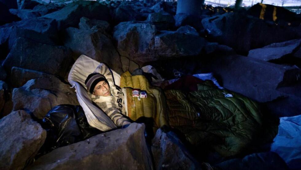 DENNE UKA LANSERTE  Nasjonal institusjon for menneskerettigheter en forskningsbasert temarapport om gjennomføringen av soveforbudet og hvorvidt dette er i tråd med de internasjonale menneskerettighetene Norge har forpliktet seg til å respektere. Foto: NTB scanpix
