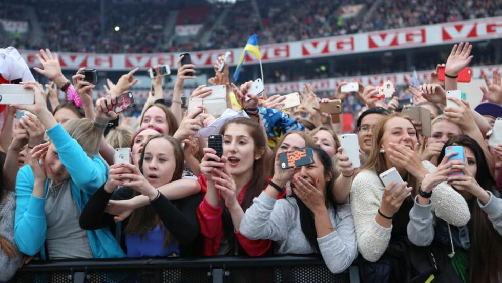 POPULÆRE: Da One Direction gjestet Ullevål Stadion tidligere i år var det stor stemning blant de fremmøtte. Foto: Christian Roth Christensen