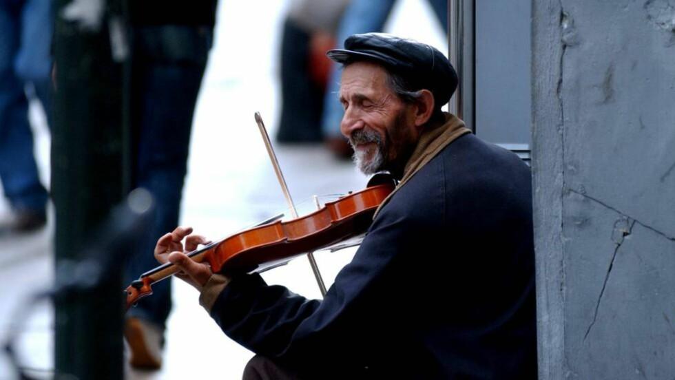 SPILL FOR GALLERIET: Det autentiske turister ønsker å oppleve, får ofte sin form av turismen selv, skriver Arve Hjelseth. Foto: Tor G. Stenersen / Aftenposten / NTB Scanpix