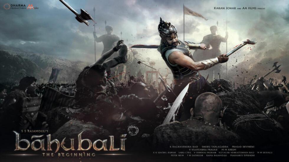 Baahubali-filmen viser internasjonale musklar. Og musklar generelt.