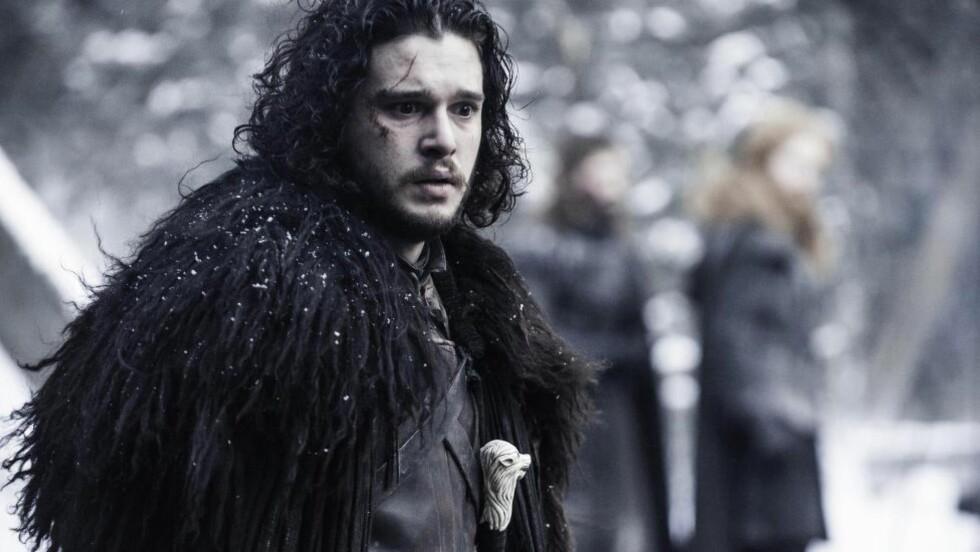 GAME OF THRONES: Jon Snow, fra Game of Thrones. Det er lov å snakke om det som skjedde med ham nå. Foto: Helen Sloan/HBO