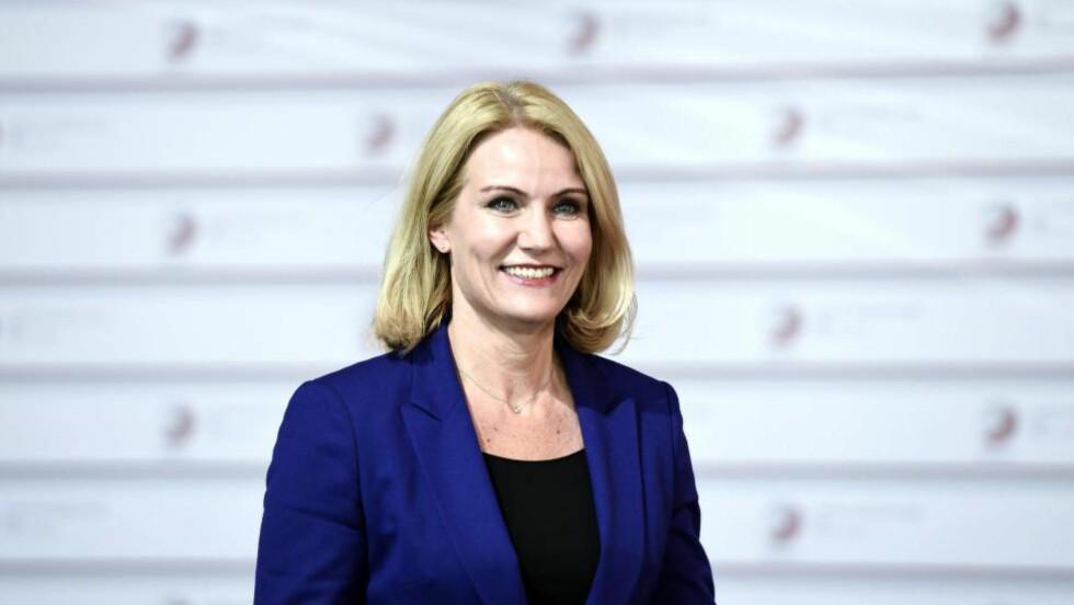 VILJELØS: Helle Thorning-Schmidt har gjort sitt eget parti overflødig. Foto: NTB Scanpix