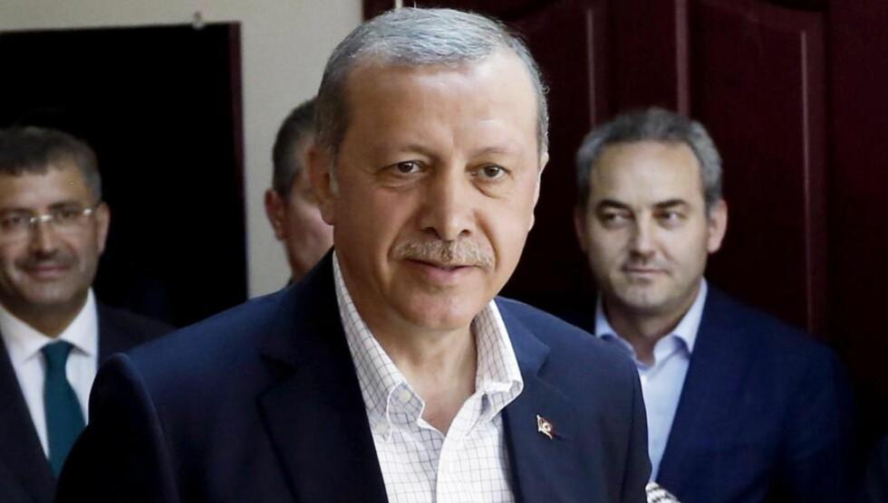 NEDERLAG:  Recep Tayyip Erdogan.