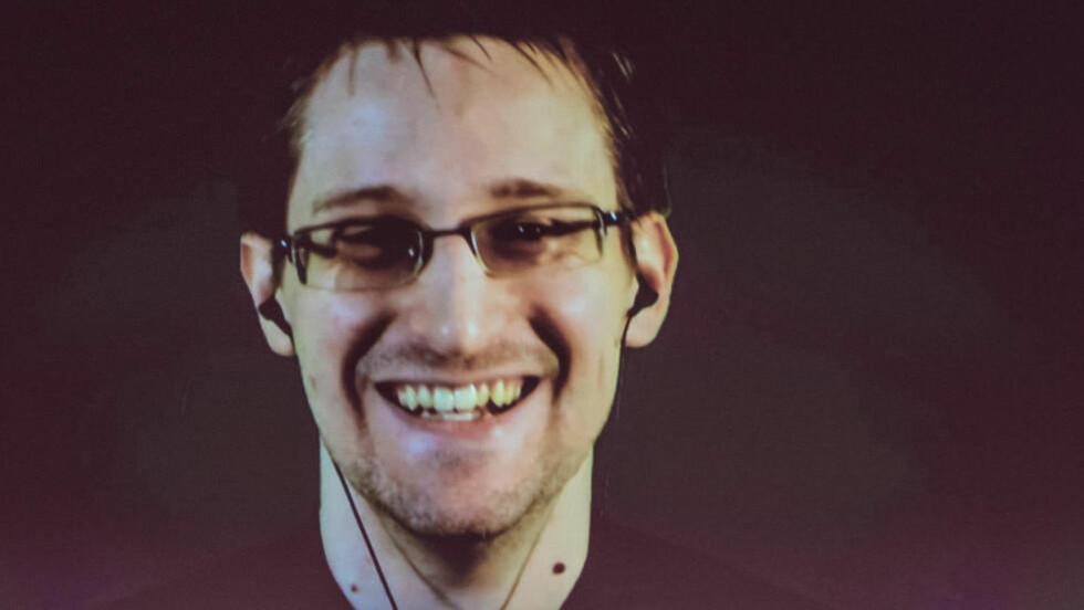 PRISVINNER: Edward Snowden er tildelt Bjørnstjerne Bjørnson-prisen for 2015 og invitert til Molde for å motta utmerkelsen i september i år. Foto: Ole Spata
