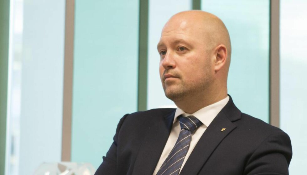 STILLE SOM EN MUS:  Justisminister Anders Anundsen (FrP) har ikke sagt stort om saken om de tvangsretunerte asylbarna.