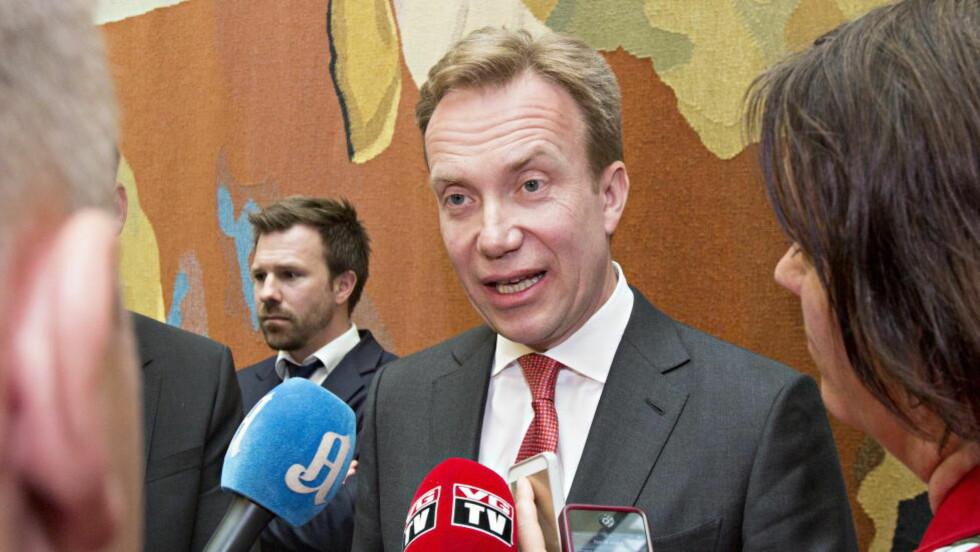 UKLAR: Utenriksminister Børge Brende har ingen klar agenda, mener artikkelforfatteren. Foto: Torbjørn Berg / Dagbladet