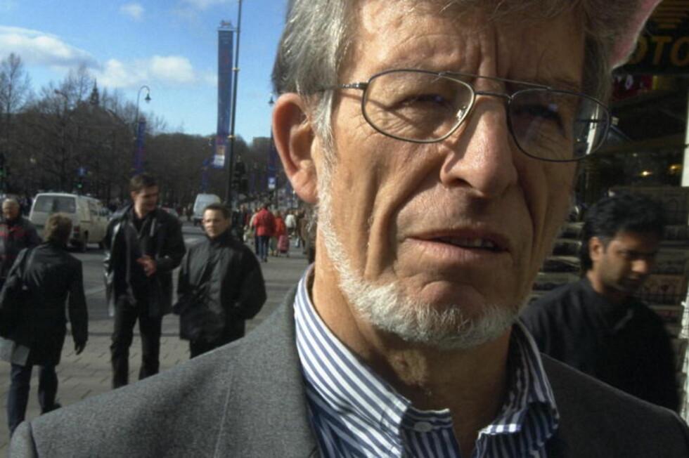 STADIG DEBATT: Professor emeritus Einar Kringlen har vært i diverse konflikter med Per Egil Hegge av og på siden 1998. Han mener det er uetisk når Aftenposten lar Hegge anmelde hans nyeste bok. Foto:Truls Brekke/Dagbladet
