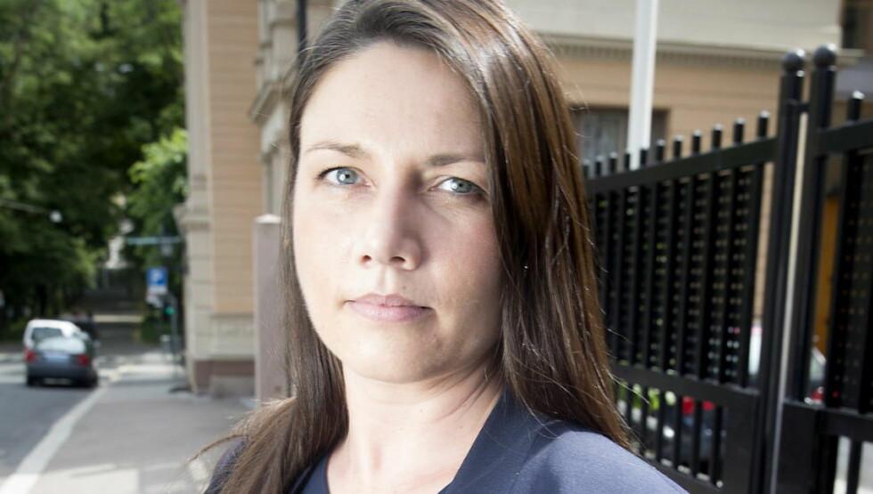 IKKE KRENKET: Men provosert, skriver stortingsrepresentant Heidi Nordby Lunde.   Foto: Bjørn Langsem / DAGBLADET