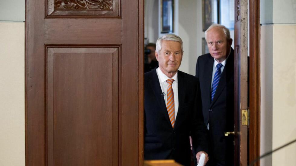 KANDIDATAR?: Det er tradisjon for å dela Nobels fredspris mellom fiendar.. Foto: Vegard Wivestad Grøtt / NTB Scanpix