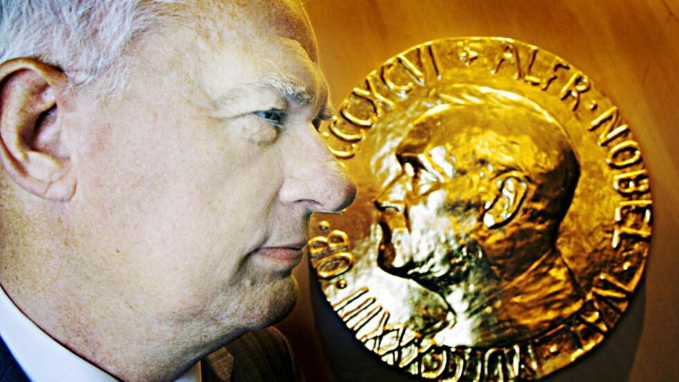 FRISKUS: Geir Lundestad åpner for en viktig debatt, mener Dagbladet i  dagens leder.  Foto: Frank Karlsen