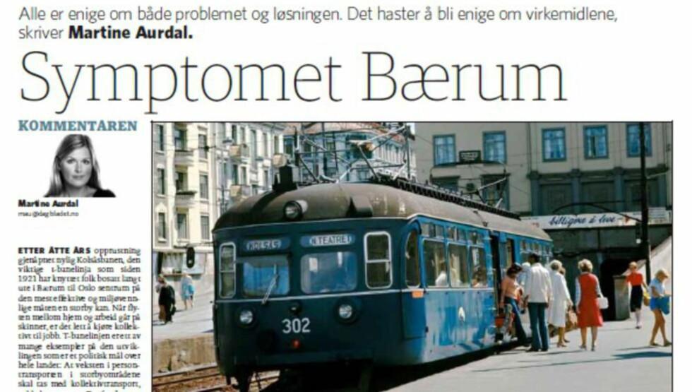 Faksimile Dagbladet 28. november 2014.