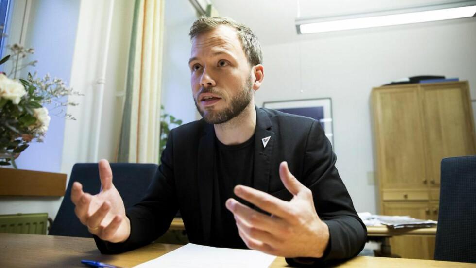 SV ønsker å fjerne alles økonomiske frihet skriver Per Sandberg. Foto: Bjørn Langsem / DAGBLADET