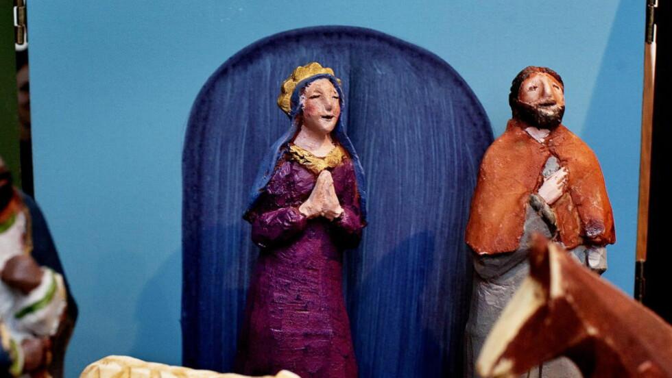 JULEBUDSKAP: Gjeterne priste og lovet Gud for det de hadde hørt og sett; alt var slik som det var sagt dem.