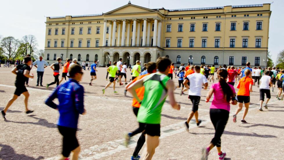 IKKE REPRESENTATIVT:  Folk sier de trener, men åtte av ti er ikke engang i moderat aktivitet 30 minutter daglig.  Foto: Vegard Grøtt / NTB scanpix