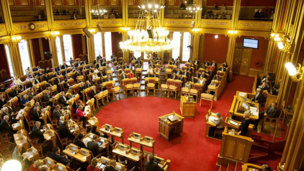 STORTINGET:  Ved flere tilfeller har det vist seg at lover gitt av Stortinget ikke er i samsvar med de såkalte «overlovene». Foto: NTB Scanpix