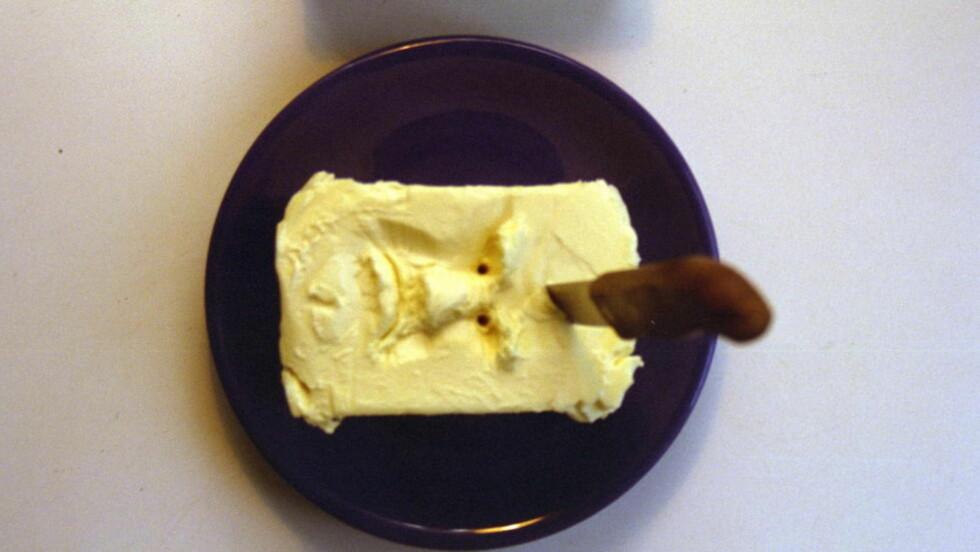 SUNT: Time Magazine viet sin utgave 23. juni i år til fett og helse. Forsiden viser smør, og overskriften er: «Eat butter. Scientists labeled fat the enemy. Why they were wrong.» Foto: Dagbladet / Mette Møller