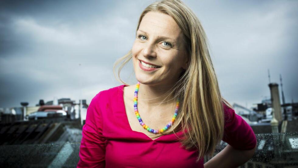 ANALYSERT: Dagbladets reporter Trude Lorentzen er en av ti sakprosaforfattere som blir grundig analysert i Jo Bech Karlsens kommende bok om norsk sakprosa. Hvor mye «litteraritet» og «transparens» fins i hennes bok «Mysteriet mamma»? Foto: Sondre Steen Holvik / Dagbladet