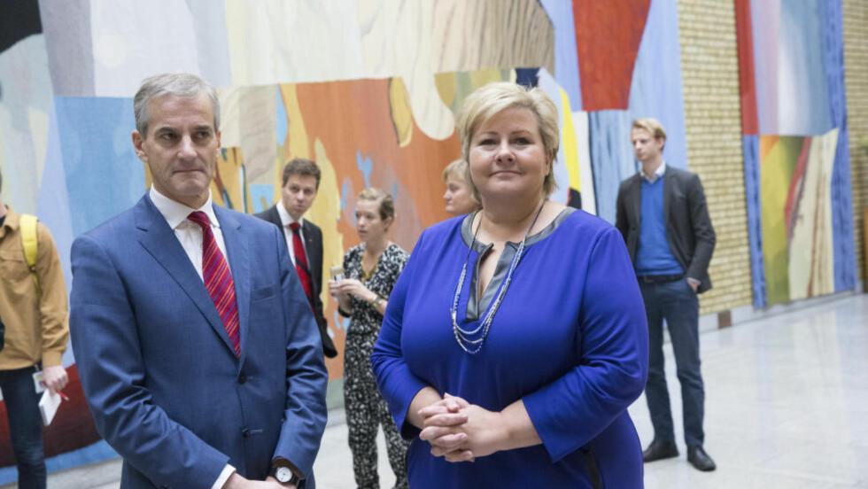 MEST NORSK? Han er fransk kaviar-sosialist og hon er frå Bergen. Foto: NTB Scanpix