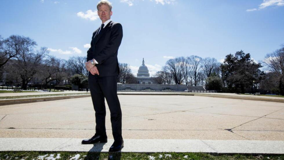 GENERALSEKRETÆR: Jan Egeland. Bildet er tatt i mars, i anledning en senatshøring med Syria som tema. Foto: Ørjan F: Ellingvåg