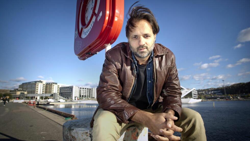 MYE OMTALT: Tirsdag ble Brennpunkt-dokumentaren «Frivillig tvang» vist på NRK. Ulrik Imtiaz Rolfsen (bildet) er regissør.  Foto: Bjørn Langsem