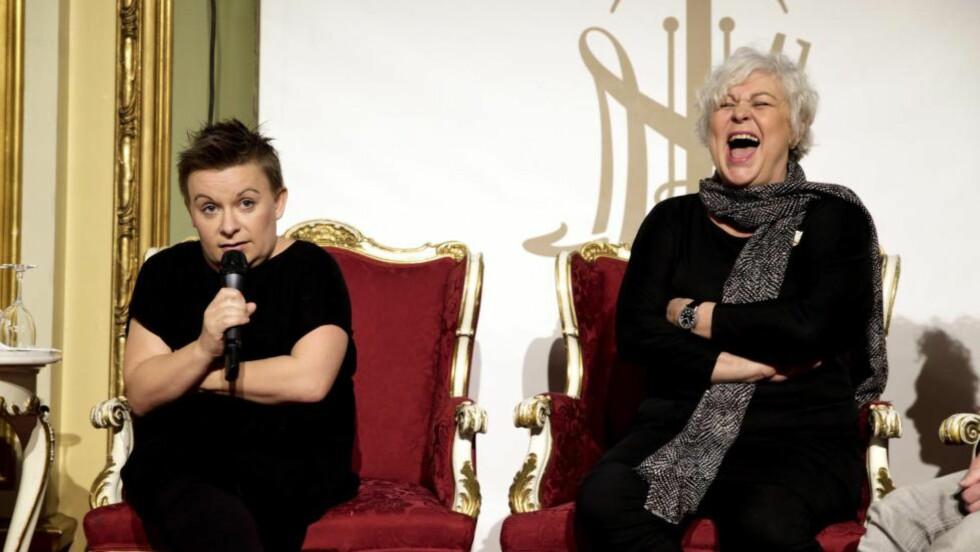 FARLIG NÆRT: Slikt kan bli en utfordring: Kjersti Horn skal regissere sin mor Ellen Horn i Lars Norens «Natten er dagens mor». Foto: Vidar Ruud / NTB Scanpix