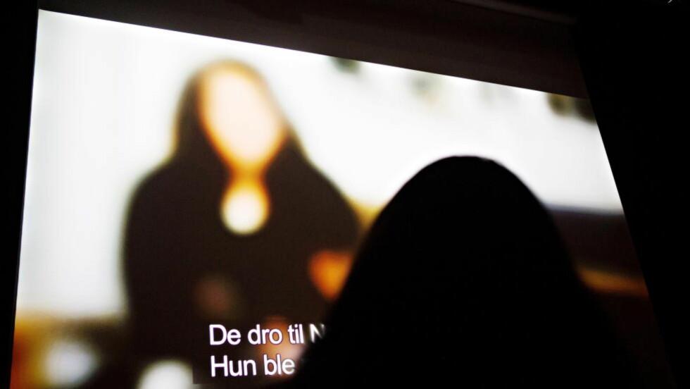 MISBRUK: Det er lite tvil om at au pair-ordningen blir misbrukt, skriver artikkelforfatteren. Bildet er fra en filmvisning som handler om au pair-ordningen i Norge.  Foto: Nina Hansen